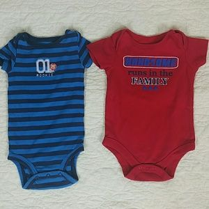 6-9 month baby onsie bundle